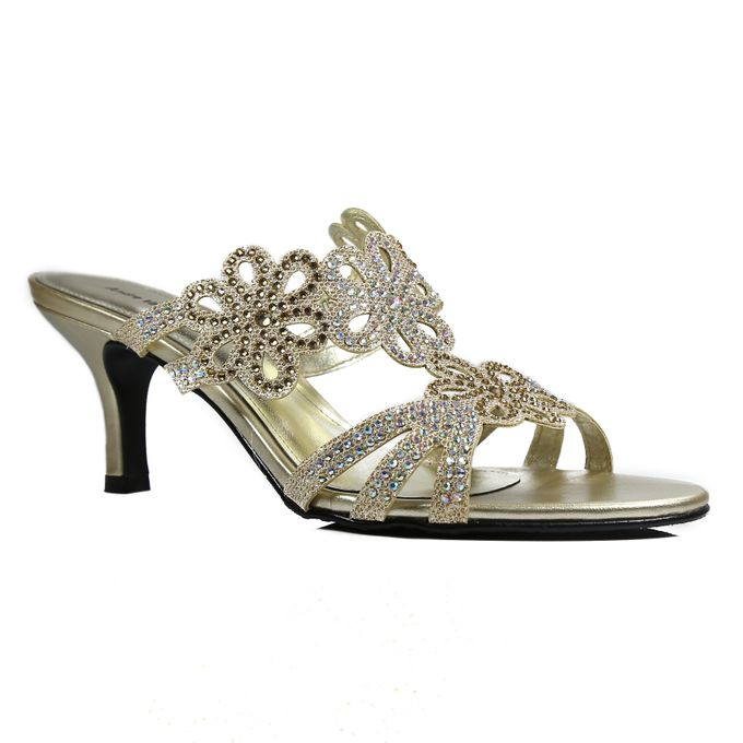 Middle Heels by Andre Valentino Bridal Shoes - 012