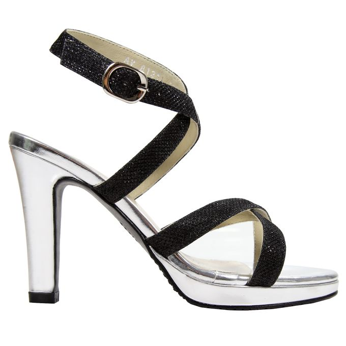Strappy Heels by Andre Valentino Bridal Shoes - 001