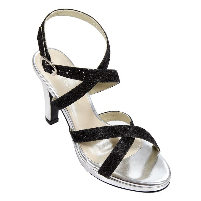 Strappy Heels by Andre Valentino Bridal Shoes - 002