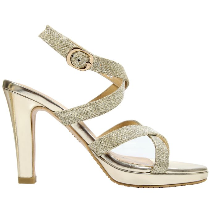 Strappy Heels by Andre Valentino Bridal Shoes - 003
