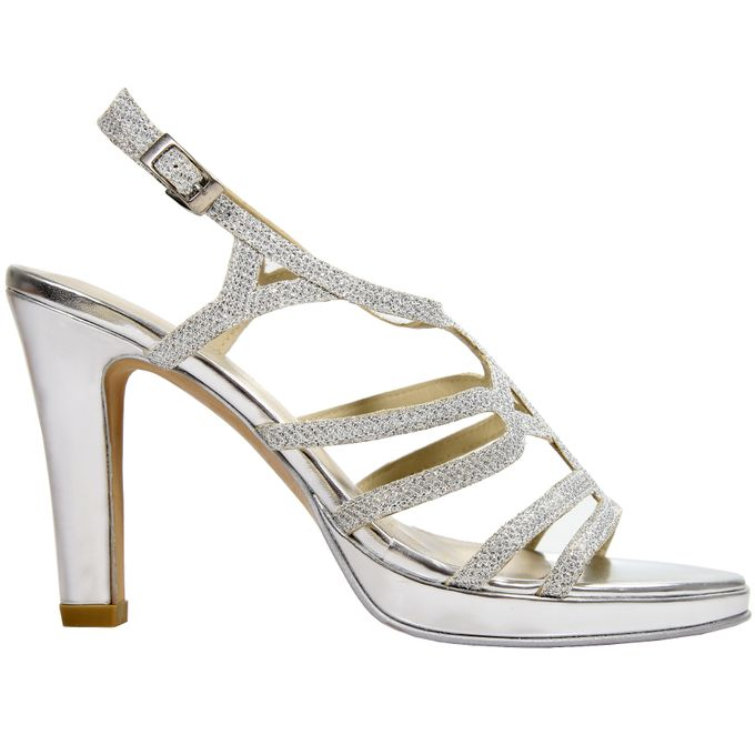 Strappy Heels by Andre Valentino Bridal Shoes - 007