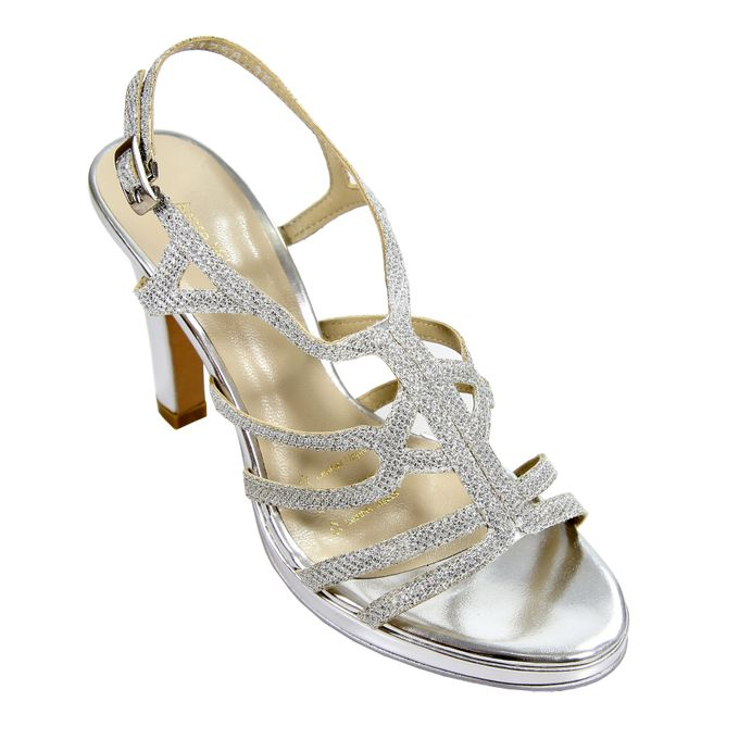 Strappy Heels by Andre Valentino Bridal Shoes - 008