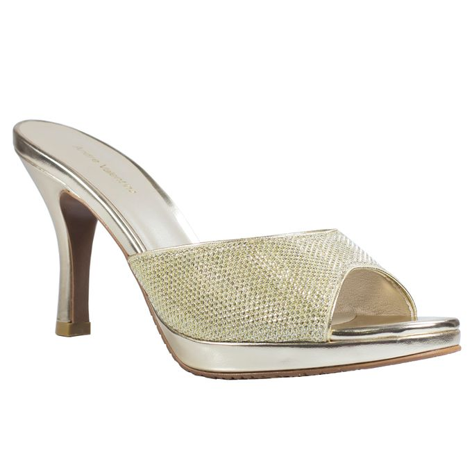 Middle Heels by Andre Valentino Bridal Shoes - 004