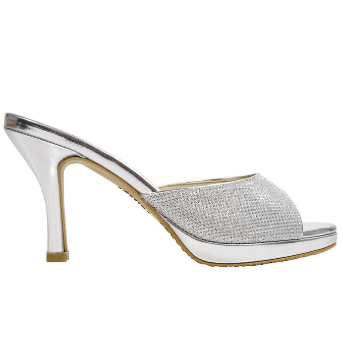 Middle Heels by Andre Valentino Bridal Shoes - 005
