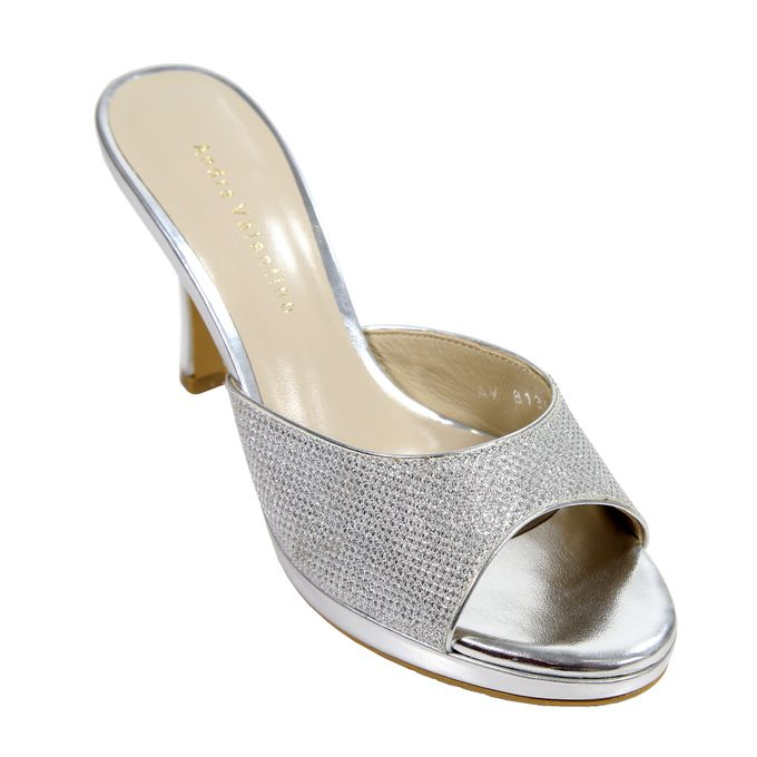 Middle Heels by Andre Valentino Bridal Shoes - 006