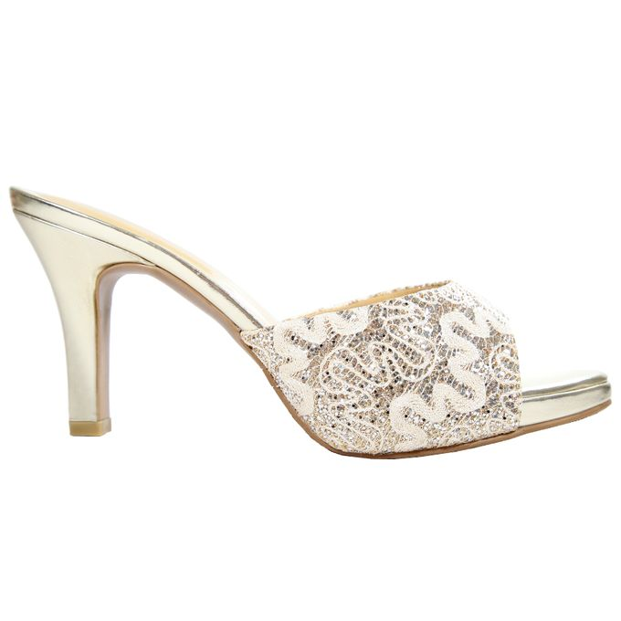 Middle Heels by Andre Valentino Bridal Shoes - 007