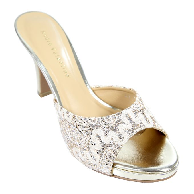 Middle Heels by Andre Valentino Bridal Shoes - 008