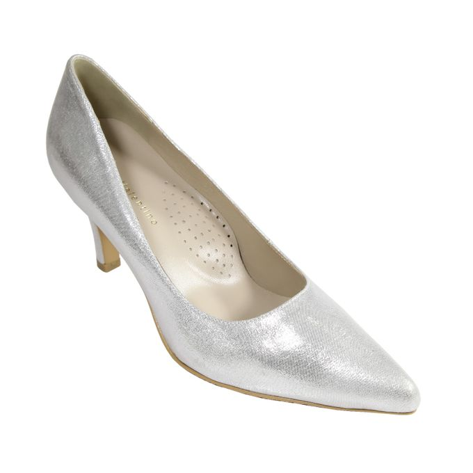 Middle Heels by Andre Valentino Bridal Shoes - 001
