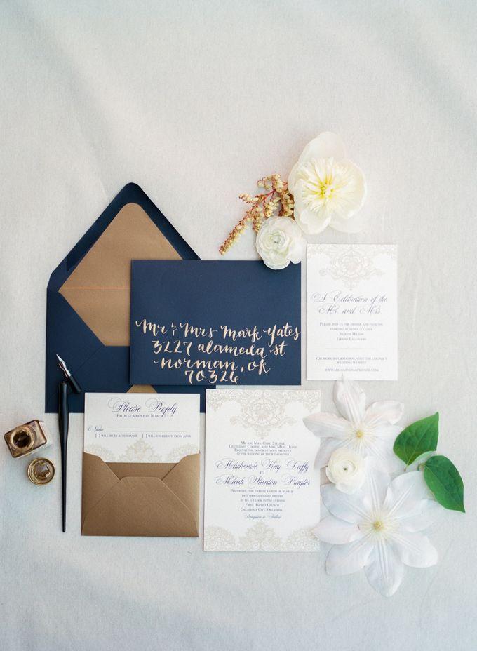 City Chic Navy & Gold Wedding by Amanda Watson Photography - 001