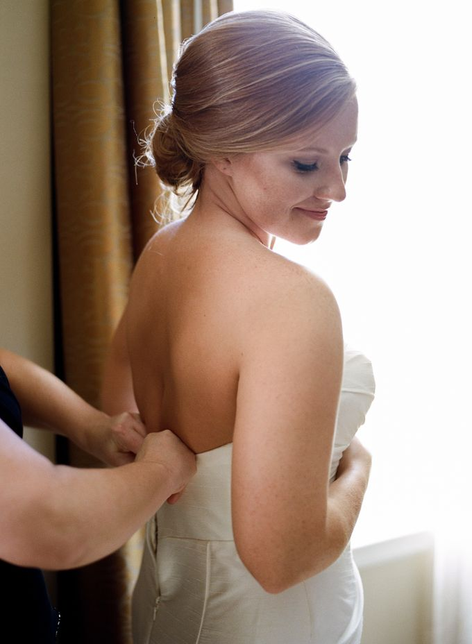 City Chic Navy & Gold Wedding by Amanda Watson Photography - 008