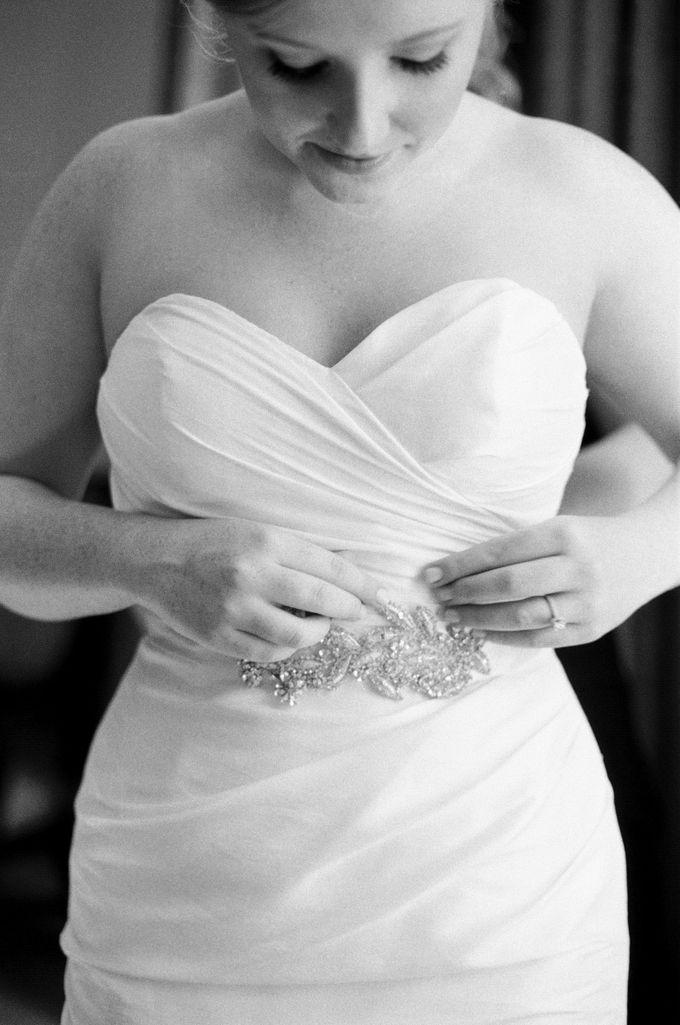 City Chic Navy & Gold Wedding by Amanda Watson Photography - 009