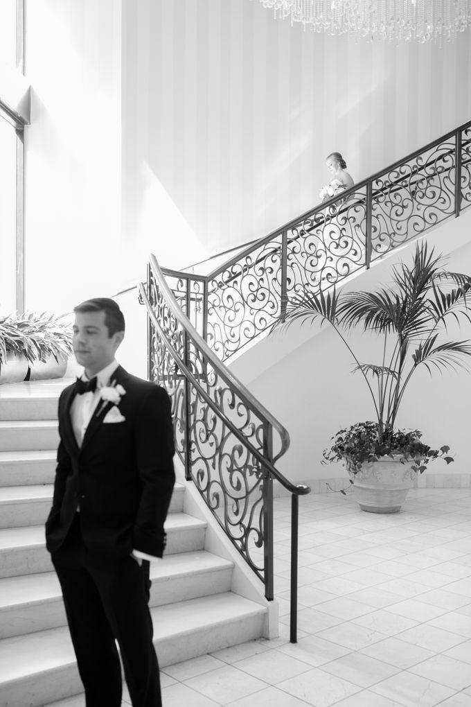 City Chic Navy & Gold Wedding by Amanda Watson Photography - 011