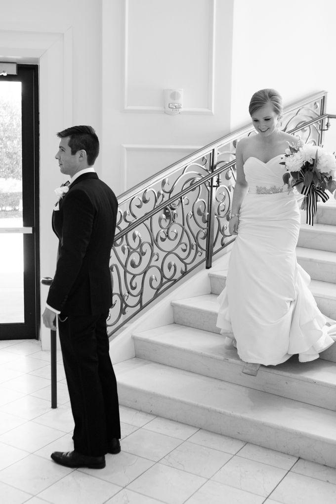 City Chic Navy & Gold Wedding by Amanda Watson Photography - 012
