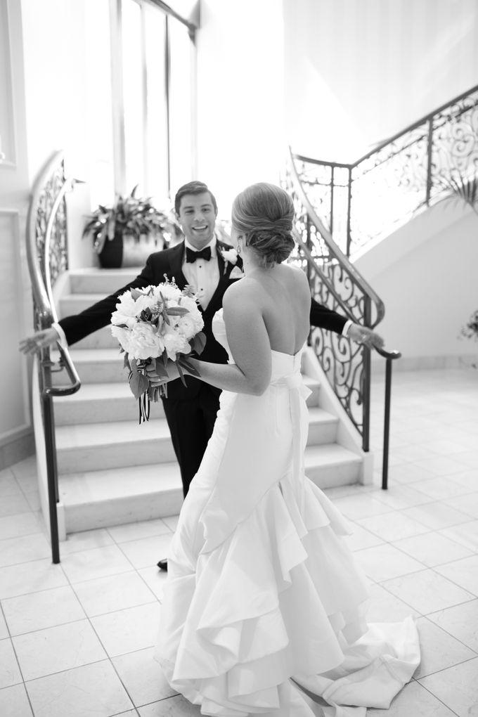 City Chic Navy & Gold Wedding by Amanda Watson Photography - 013