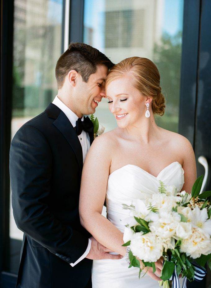 City Chic Navy & Gold Wedding by Amanda Watson Photography - 015