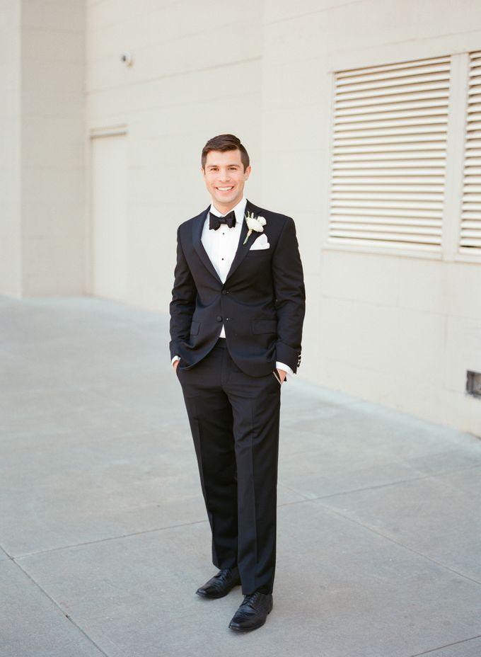 City Chic Navy & Gold Wedding by Amanda Watson Photography - 016