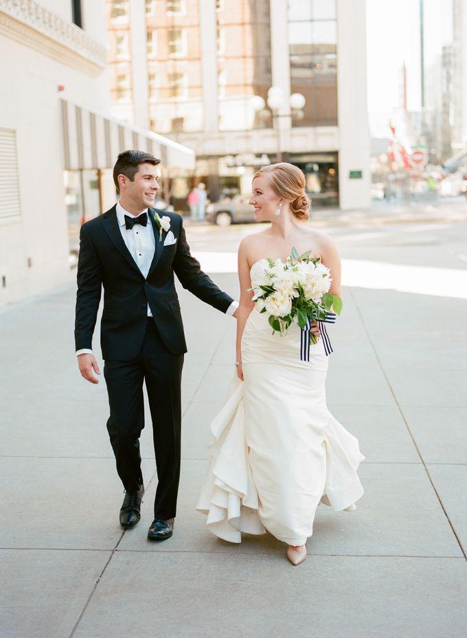 City Chic Navy & Gold Wedding by Amanda Watson Photography - 018