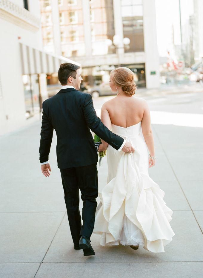 City Chic Navy & Gold Wedding by Amanda Watson Photography - 019
