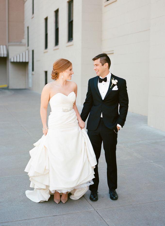 City Chic Navy & Gold Wedding by Amanda Watson Photography - 020