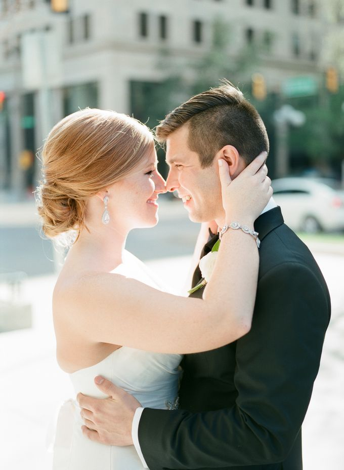 City Chic Navy & Gold Wedding by Amanda Watson Photography - 021