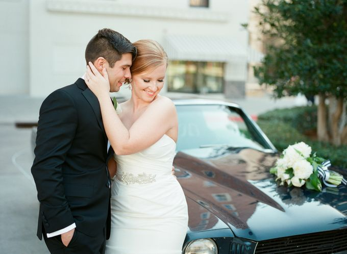 City Chic Navy & Gold Wedding by Amanda Watson Photography - 028