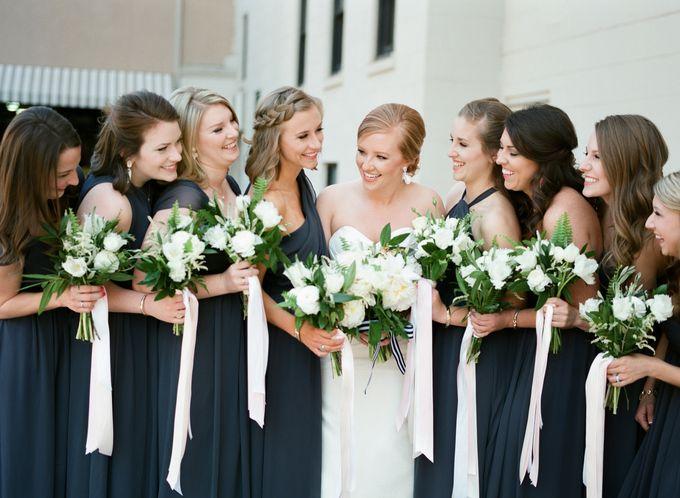 City Chic Navy & Gold Wedding by Amanda Watson Photography - 030