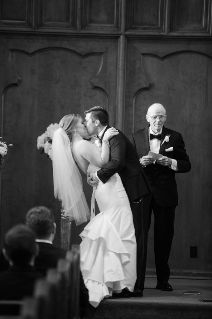 City Chic Navy & Gold Wedding by Amanda Watson Photography - 034