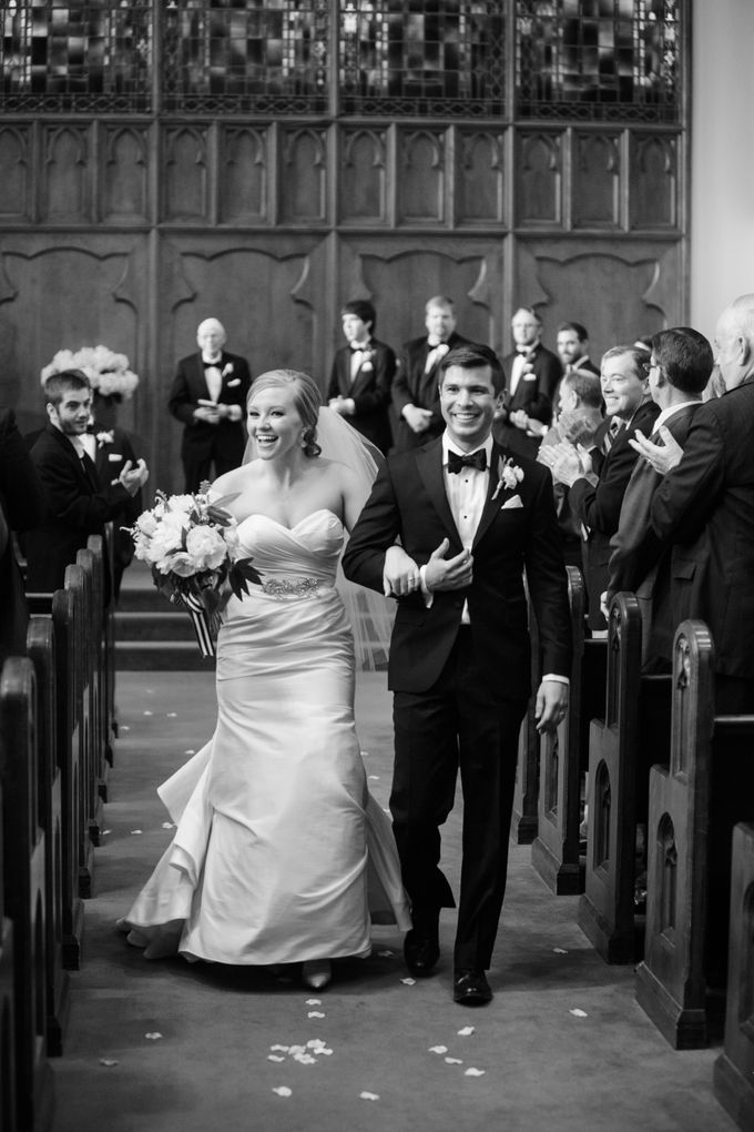 City Chic Navy & Gold Wedding by Amanda Watson Photography - 035