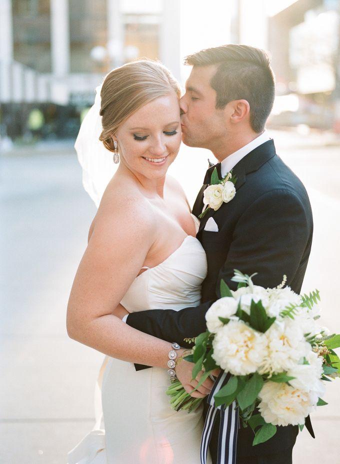 City Chic Navy & Gold Wedding by Amanda Watson Photography - 037