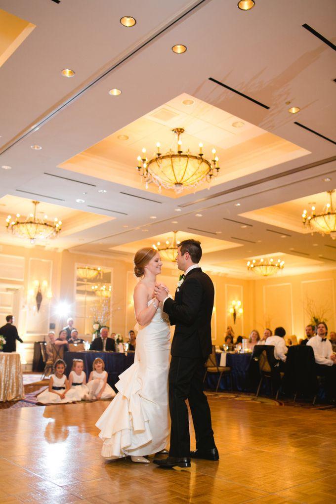 City Chic Navy & Gold Wedding by Amanda Watson Photography - 046