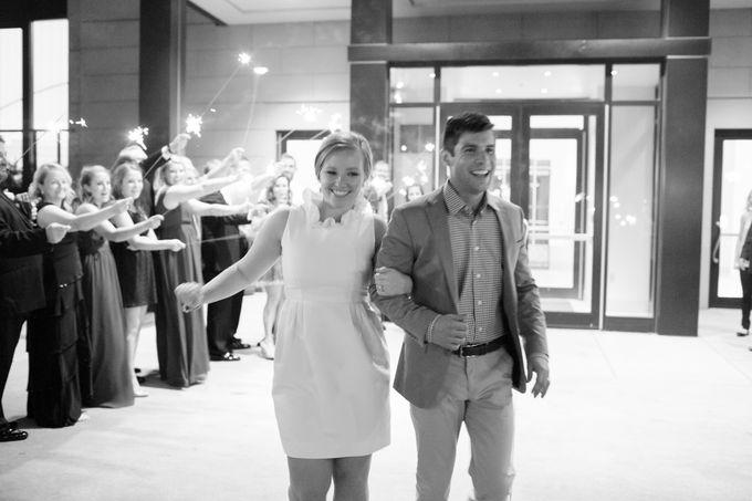 City Chic Navy & Gold Wedding by Amanda Watson Photography - 049