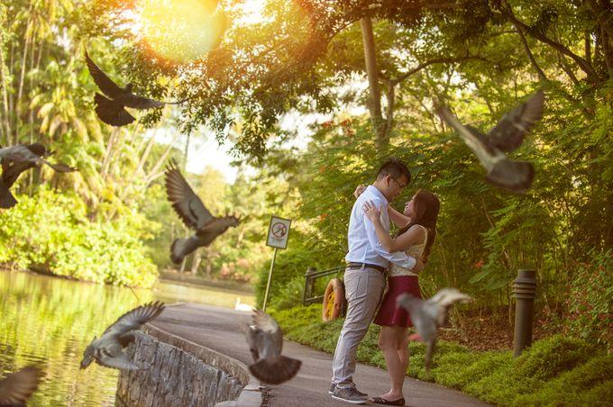 JAY-R & KATTLEYA SINGAPORE ENGAGEMENT by Aying Salupan Designs & Photography - 002