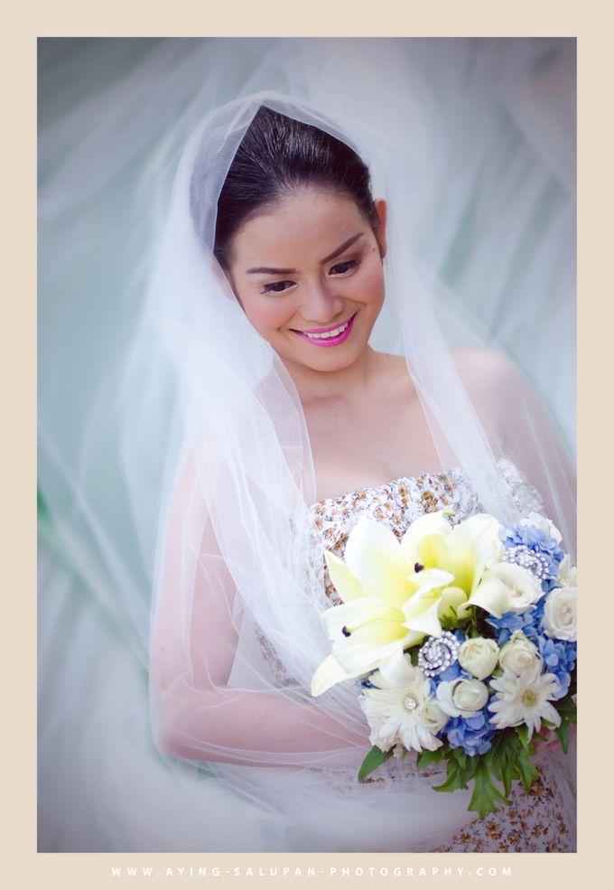 BRIDAL PORTRAITS by Aying Salupan Designs & Photography - 005