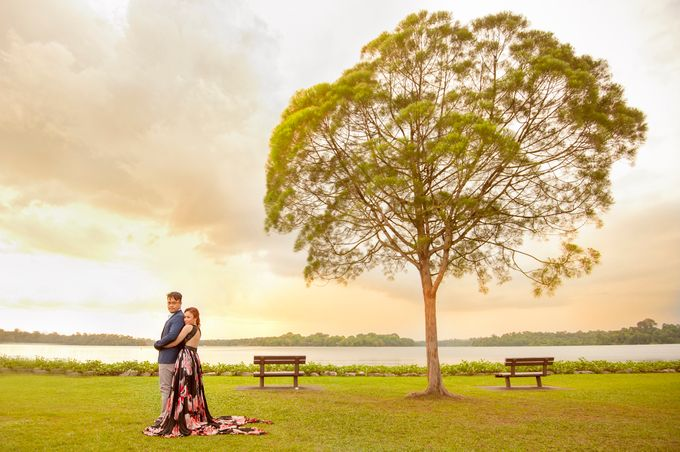 JAY-R & KATTLEYA SINGAPORE ENGAGEMENT by Aying Salupan Designs & Photography - 009