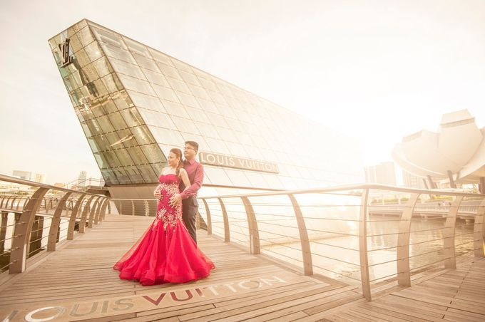 JAY-R & KATTLEYA SINGAPORE ENGAGEMENT by Aying Salupan Designs & Photography - 014