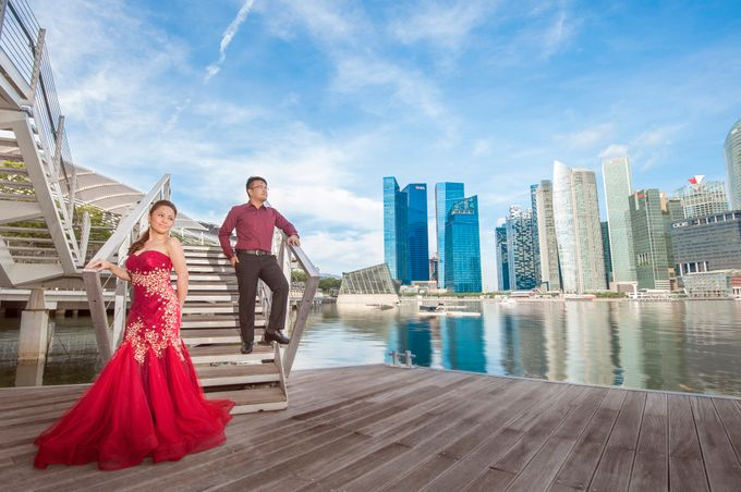 JAY-R & KATTLEYA SINGAPORE ENGAGEMENT by Aying Salupan Designs & Photography - 016
