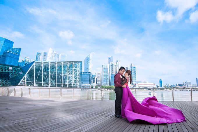 JAY-R & KATTLEYA SINGAPORE ENGAGEMENT by Aying Salupan Designs & Photography - 017