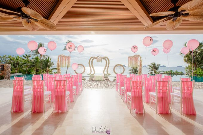 Yue Li & Yu Xuan wedding at Conrad Koh Samui by BLISS Events & Weddings Thailand - 002