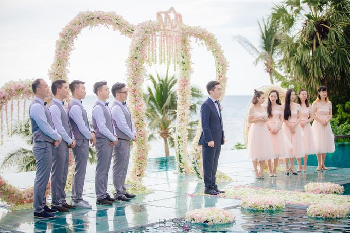 Yue Li & Yu Xuan wedding at Conrad Koh Samui by BLISS Events & Weddings Thailand - 005
