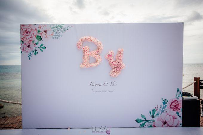 Yue Li & Yu Xuan wedding at Conrad Koh Samui by BLISS Events & Weddings Thailand - 008