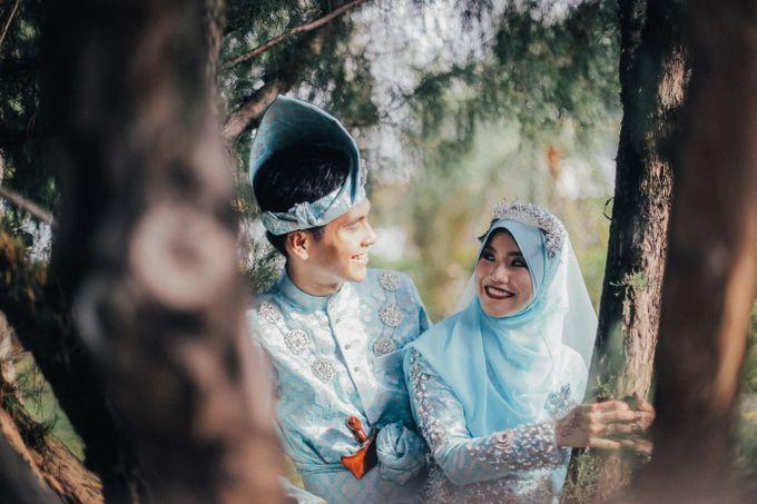 Afiah & Haikal Wedding ceremony by The.azpf - 005