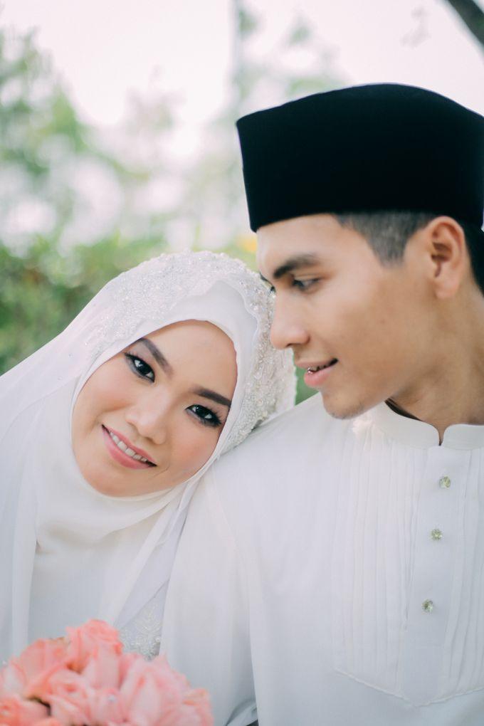 Afiah & Haikal Wedding ceremony by The.azpf - 002