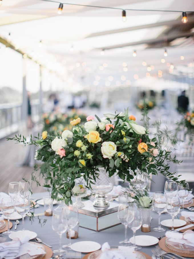 Rooftop Wedding Party in Kiev by Caramel Events - 041