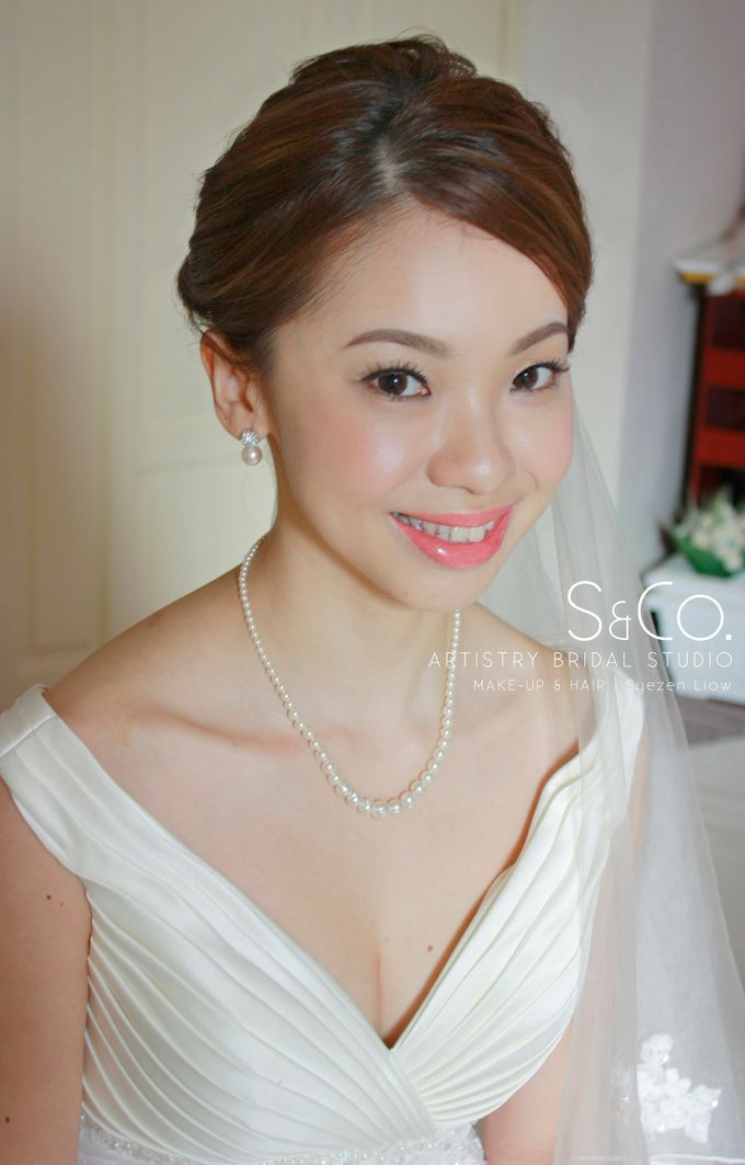 Actual Day Bridal Makeup by S & Co. Artistry Bridal Makeup Studio - 005