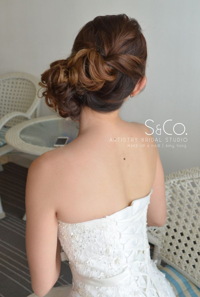 Actual Day Bridal Makeup by S & Co. Artistry Bridal Makeup Studio - 011