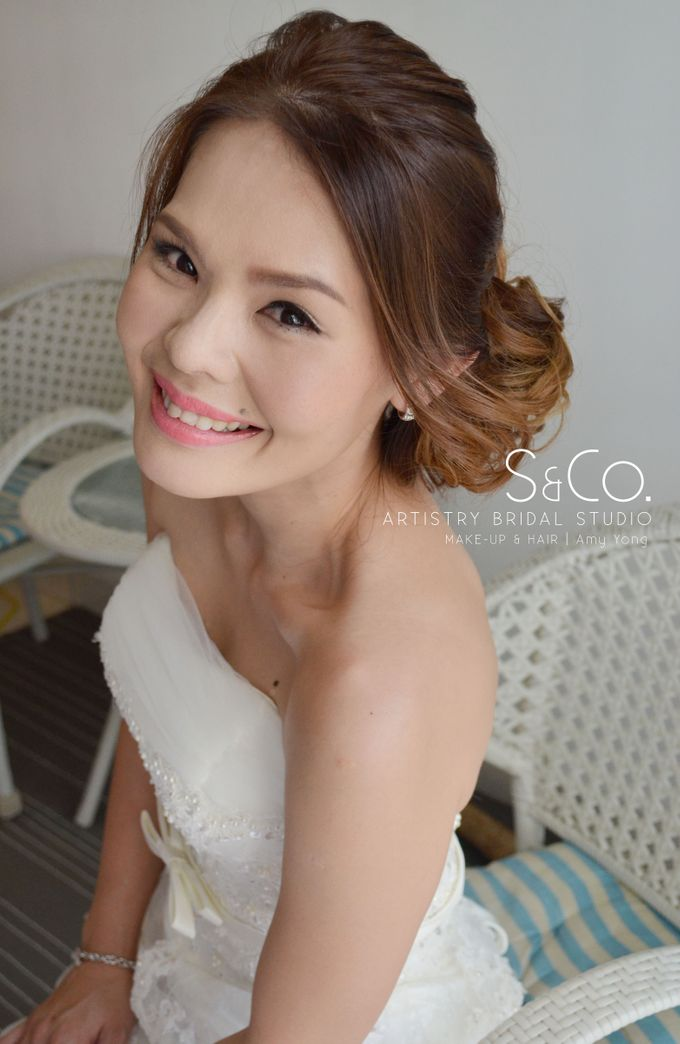 Actual Day Bridal Makeup by S & Co. Artistry Bridal Makeup Studio - 010