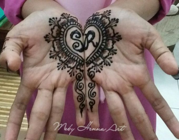 Ethnic Red Henna by Meby Henna Art - 004