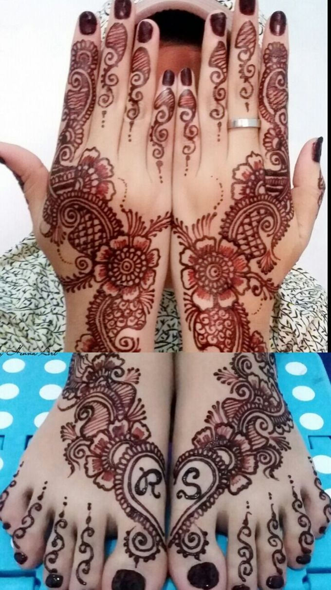 Ethnic Red Henna by Meby Henna Art - 006