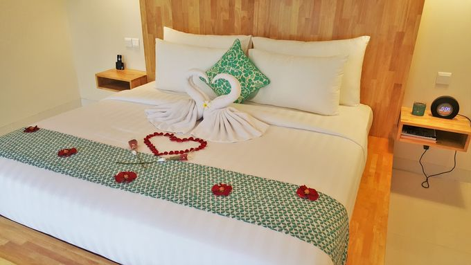 Honeymoon arrangement in the room by Theanna Eco Villa and Spa - 001