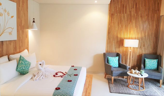 Honeymoon arrangement in the room by Theanna Eco Villa and Spa - 002